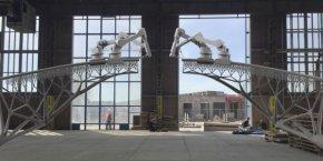 MX3D BRIDGE, Pont imprimé en 3D, Joris Laarman/MX3D, Pays-Bas  2015-2017