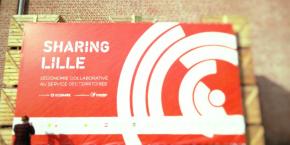 Sharing Lille permet de faire se côtoyer entreprises, institutionnels, association, artistes et bénévoles.