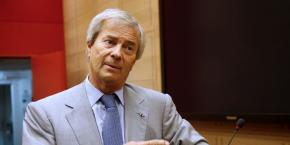 Vincent Bolloré, le patron de Vivendi (maison-mère de Canal+).