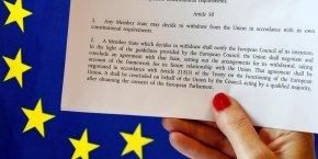 L'article 50, pomme de discorde du brexit
