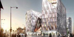 En prenant de la hauteur, pour maîtriser un étalement urbain nocif à la ville durable, la ville se reconstruit sur elle-même et renouvelle son image d'une façon qui se veut originale.