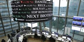 Le groupe Euronext gère les Bourses de Paris, Amsterdam, Bruxelles et Lisbonne.