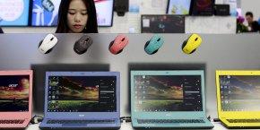 Acer a tiré notamment profit de la forte hausse des ventes sur le segment de l'ultramobile (+13%).