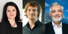 De gauche à droite : K. Vidic (conseil French Tech Montpellier), L. Soubeyrand (Teads), J.-M. Bouchet (Quadran)