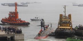Les fuites pourraient venir d'Inde, où un Scorpène a été livré en fin d'année dernière à Bombay (photo) et devrait intégrer la marine indienne dans quelques semaines.