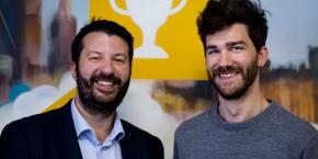 """Eliott Reilhac et Pierre Marechal, les deux fondateurs de TVTY, sont devenus les leaders mondiaux d'une petite niche dans le marché de la publicité en ligne : celle des """"moments publicitaires"""", c'est-à-dire la publicité en temps réel contextualisée."""