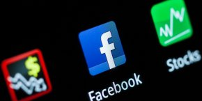 Logo de l'application Facebook à utiliser pour l'introduction en Bourse de Facebook