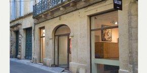 La galerie est située au cœur de l'Écusson, à Montpellier