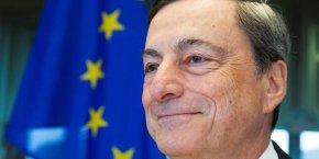 Mario Draghi ne veut pas baisser la garde, tout en la baissant légèrement.