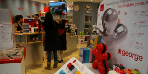 Cadeau maestro dispose d'une boutique connectée en centre-ville de Saint-Etienne.
