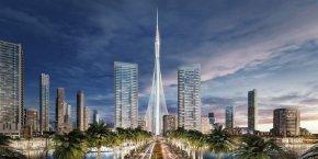Les travaux de la tour devraient s'achever à l'horizon 2020 pour l'organisation de l'exposition universelle.