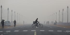 Pollution à Pékin.