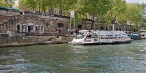 L'objectif est de faire découvrir aux parisiens et aux franciliens le transport fluvial, trop perçu comme uniquement touristique.