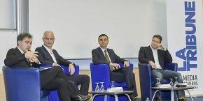 José Milano, Dominique Martin, Hubert de Marcellus, Antoine Chotard