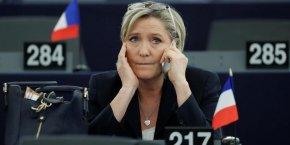 Marine Le Pen reste en tête des intentions de votes au premier tour de la présidentielle.