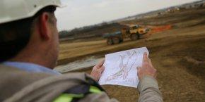 Le chantier du Parc des expostions soutient l'emploi dans le BTP.