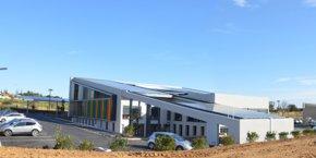 Les nouveaux locaux de Quadran, sur la zone de Mazéran à Béziers.