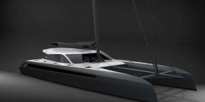 Le futur voilier très haut de gamme de la marque Gunboat.
