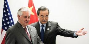Rex Tillerson avait provoqué en janvier l'ire de Pékin en agitant la menace d'un blocus pour empêcher l'accès du pays à des îles contestées en mer de Chine méridionale.