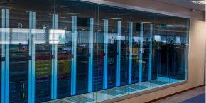 La zone data center du site Dell EMC à Montpellier