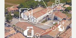 Le projet du Mas Numérique se déploiera sur l'exploitation viticole du Domaine du Chapitre à Villeneuve-lès-Maguelone (34).