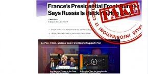 Nous publierons des exemples de propagande de hoaxes provenant de plusieurs médias et donnerons les liens vers les sources, a précisé Maria Zakharova, directrice de l'information et de la presse du ministère des Affaires étrangères russe.