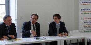 Frédéric Guillot, Michel Peyron et Eric Gouardes dirigent l'ADEME Occitanie.