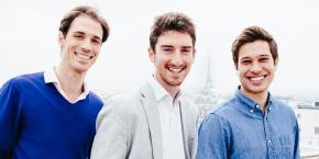 Les trois cofondateurs de la startup française Databerries, Guillaume Charhon, Benoît Grouchko et François Wyss.