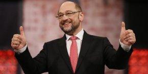 Martin Schulz, élu président de la SPD, n'a pas officiellement soutenu Emmanuel Macron, à la différence de son prédécesseur.