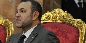Le roi du Maroc Mohammed VI aux côtés de Nicolas Sarkozy en septembre 2011