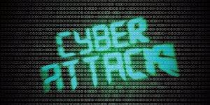 Illustration - cyber attack, internet
