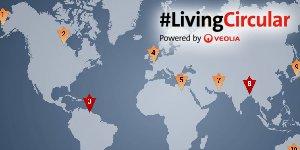 Carte Tour du monde de l'Innovation