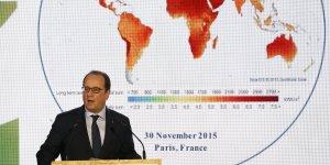 François Hollande le 30 novembre lors de la COP21 à Paris