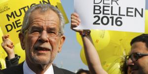 Le candidat independant remporte la presidentielle en autriche