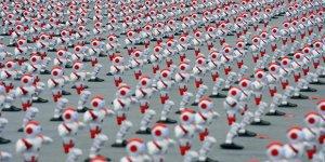 Record mondial de robotique en Chine