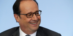 Hollande predit l'election de clinton