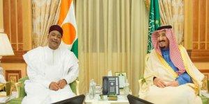 Le président du Niger avec le Roi d'Arabie Saoudite