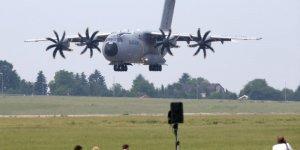 Airbus choque apres le probleme de moteur d'un a400m