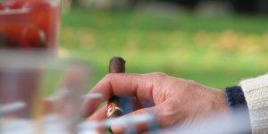 Riche, cigare, argent, millionnaire. cigar par Michael Ivanov