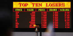 Bourse chute Top 10 Losers