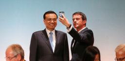 selfie valls / keqiang