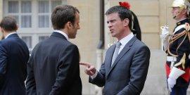 Macron et Valls