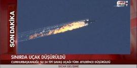 Avion russe abattu par la Turquie