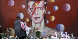 Bowie David, musique pop, Wall of fame,