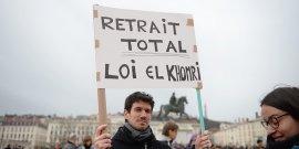 Manifestation Lyon Loi Travail El Khomri