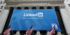 LINKEDIN A RÉUSSI SON ENTRÉE EN BOURSE À NEW YORK