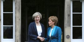 Rencontre entre theresa may et nicola sturgeon