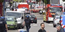 Prise d'otages meurtriere en normandie