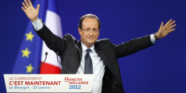 hollande bourget 2012