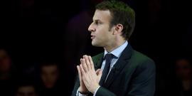 Macron creuse l'ecart avec fillon mais reste derriere le pen